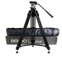 Оптовая продажа DHL про BENRO KH25N KH 25N видео Камера штатив профессиональный гидравлический глава магниевого сплава штатив + видео штативы сумка