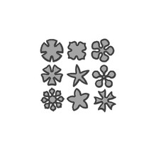 YaMinSanNiO 1 Pcs/lot Metal Cutting Dies Scrapbooking For Card Making DIY Embossing Cuts New Craft 9 Kinds Of Flower Decoration