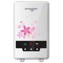 Электрический смеситель для душа 8500 Вт светодиодный цифровой