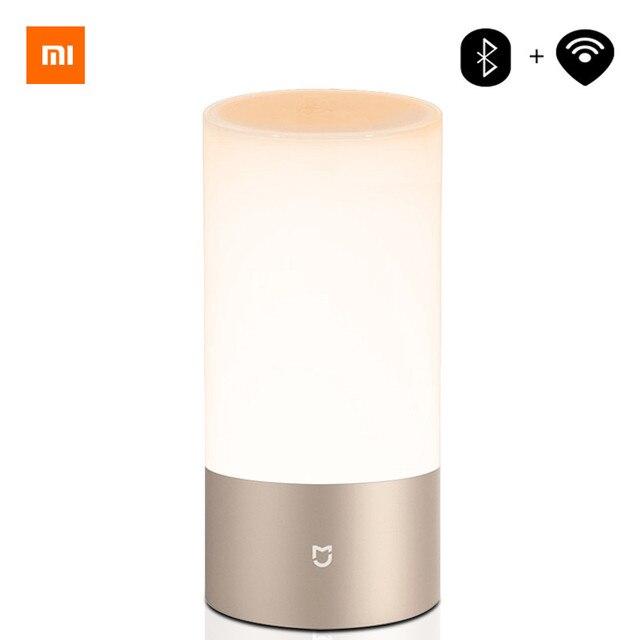 Upgrade Version Xiaomi Mijia Yeelight LED Light Bedside Lamp Light Smart Indoor Night Light Touch Control Smart App Control