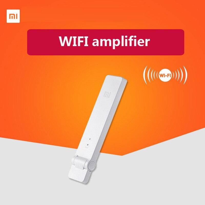 100% Original Xiaomi Mi WIFI Repeater 2 Amplifier Extender 2 Signal Boosters WiFi Wireless Universal Router Xiaomi Mijia ac750 wifi range extender router reapter boosters 2 4ghz