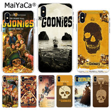 MaiYaCa Die Goonies Film Luxus High-end-telefon Zubehör fall für Apple iPhone 8 7 6 6S Plus X XS max 5 5S SE XR Abdeckung(China)