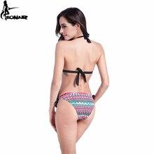 Floral Swimsuit Push Up Bikini Set