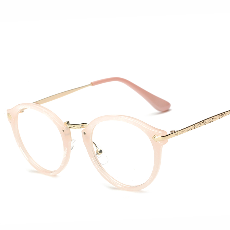 Eyeglass Frames For Heavy Prescriptions : Fashion Women Eyeglass Frame Eyewear Brand Designer Plain ...