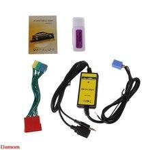 Автомобильный MP3-плеер радио Интерфейс cd-чейнджер USB SD AUX IN для Audi A2 A4 A6 S6 A8 S8Ramadan фестиваль подарки