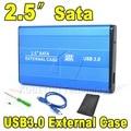 "Portátil de Alta Velocidade 2.5 ""USB 3.0 HDD Hard Disk Drive Case Hard Drive Enclosure Box SATA Externo para PC Computador Portátil Notebook"