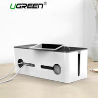 Ugreen Home Electronic Accessories Cable Organizer Power Strip Storage Box USB Charger USB Cable Management High