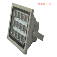 1 шт Инфракрасный 15 высокой мощности ИК светодиодный инфракрасный светильник светодиодный свет видеонаблюдения Камера заполняющий свет 850nm Массив светодиодный 100 M водонепроницаемый
