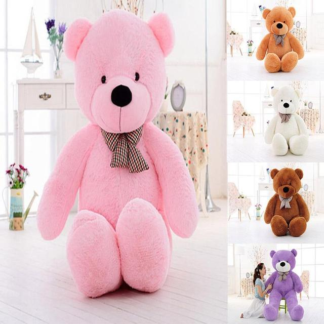 5 color 80 size giant shell giant teddy bear valentines day holiday gift bear plush toys