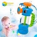 Baño de Ducha del bebé Juguetes para Niños Kids Bañera Baño Piscina Bomba de Agua Pulverizada Hipocampo Playa Juguetes Educativos Regalos