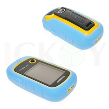 Outdoor Hiking Handheld GPS Protect Light Blue Silicon Rubber Case for Garmin GPS Navigator eTrex 10 20 30 10x 20x 30x 201 201x