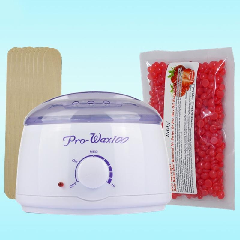 EU/US Plug Wax Warmer Paraffin Heater Machine Epilator Hair Removal Waxing  Beans Depilatory Wax Painless Bean Sticks Waxing Kit-in Wax Heaters from