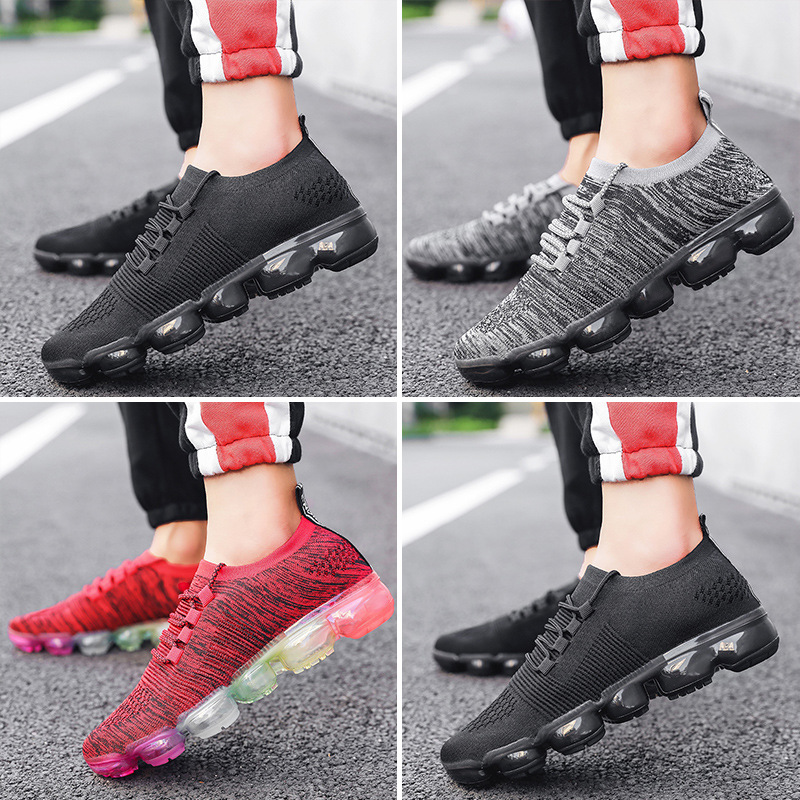 Baskets homme amorti course Max air homme chaussures tendance Style sport vapormax respirant baskets pour homme Superstar