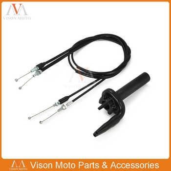 Black FCR Twister Throttle Tube Pull Push Cables For CRF150R RB CRF450R CRF450X CRF250R CRF250X TRX450R KX250F KX450F KLX450F - DISCOUNT ITEM  17% OFF Automobiles & Motorcycles