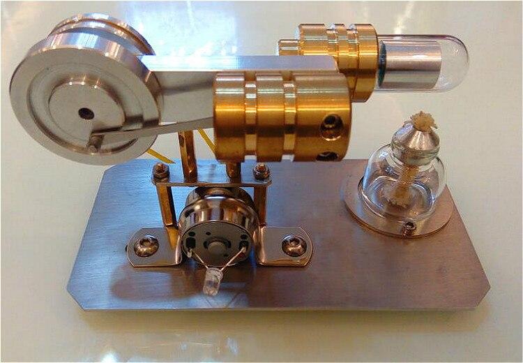 Stirling Engine External Combustion Micro Generator Steam Engine Love Birthday Gift Toy Model Engine. engine oil engine mini engine model hit and miss engine send friend birthday gift