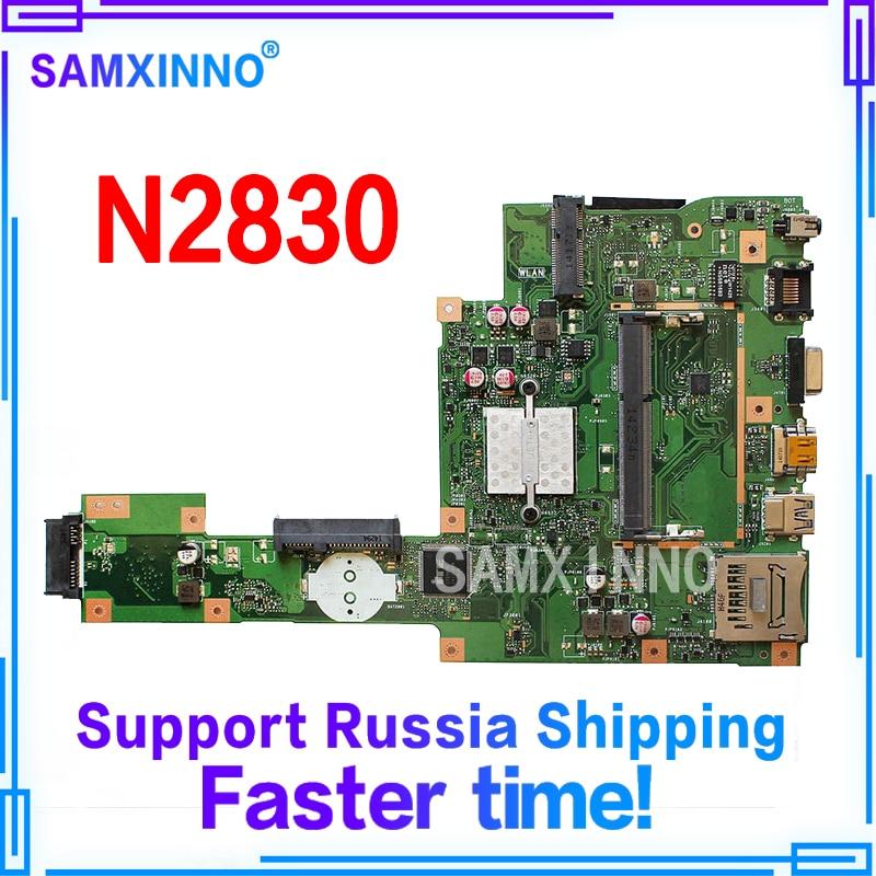 X553MA Motherboard N2830U REV2.0 RAM For ASUS A553M D553M F553MA laptop Motherboard X553MA Mainboard X553MA Motherboard 100% ok new laptop dc power jack socket for asus d553m f553ma x453ma x553 x553m x553ma series charging port connector