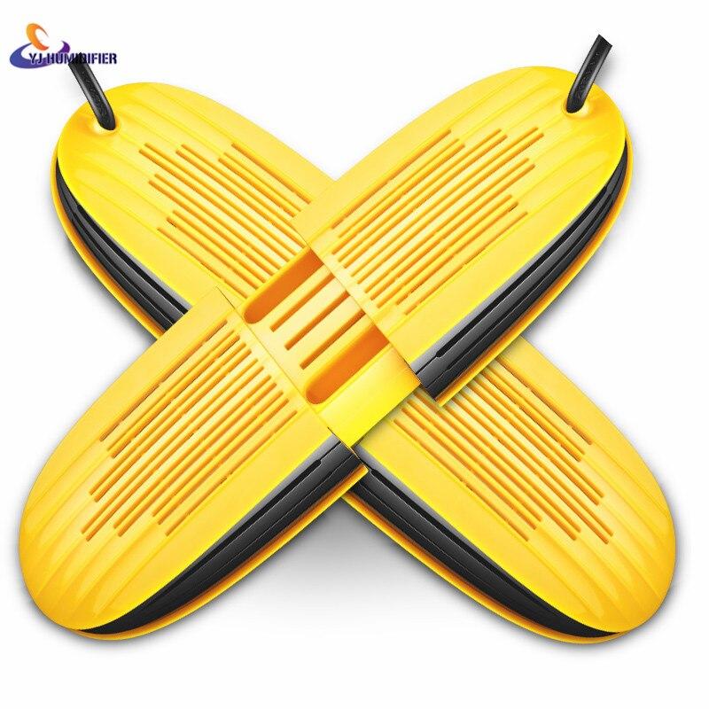 YJ HUMIDIFIER Bake Shoe Dryer For Shoe Feet Deodorant UV Sterilization Telescopic High Quality 220V ultraviolet radiation bake shoes deodorant sterilization baking shoes drying machine uv folding electric boots shoe dryer warmer