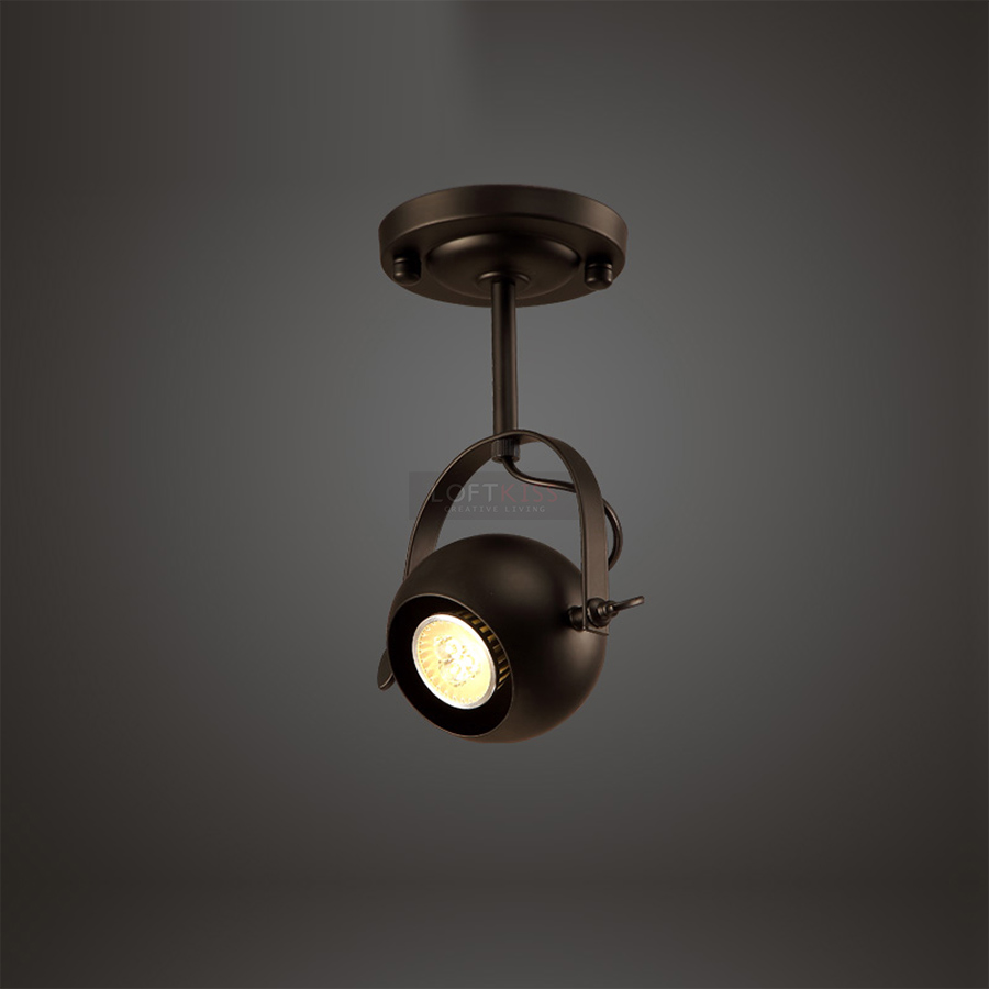 ФОТО Loftkiss Vintage Industrial Retro Spot Lighting  Classic Hollywood Atmosphere lamp projected lights ceiling lights