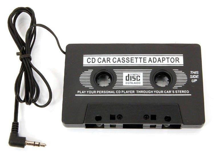 aux input car cassette tape adapter convertor audio cable transmitters for music iphone. Black Bedroom Furniture Sets. Home Design Ideas