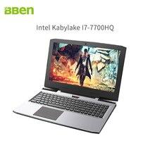 Bben игровой ноутбук с Intel i7-7700HQ Quad Core NVIDIA GeForce GTX1060 32 ГБ DDR4, M.2 256 ГБ SSD, 2 ТБ HDD 15.6″