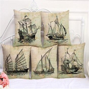 Gallon Ship Cushion Covers