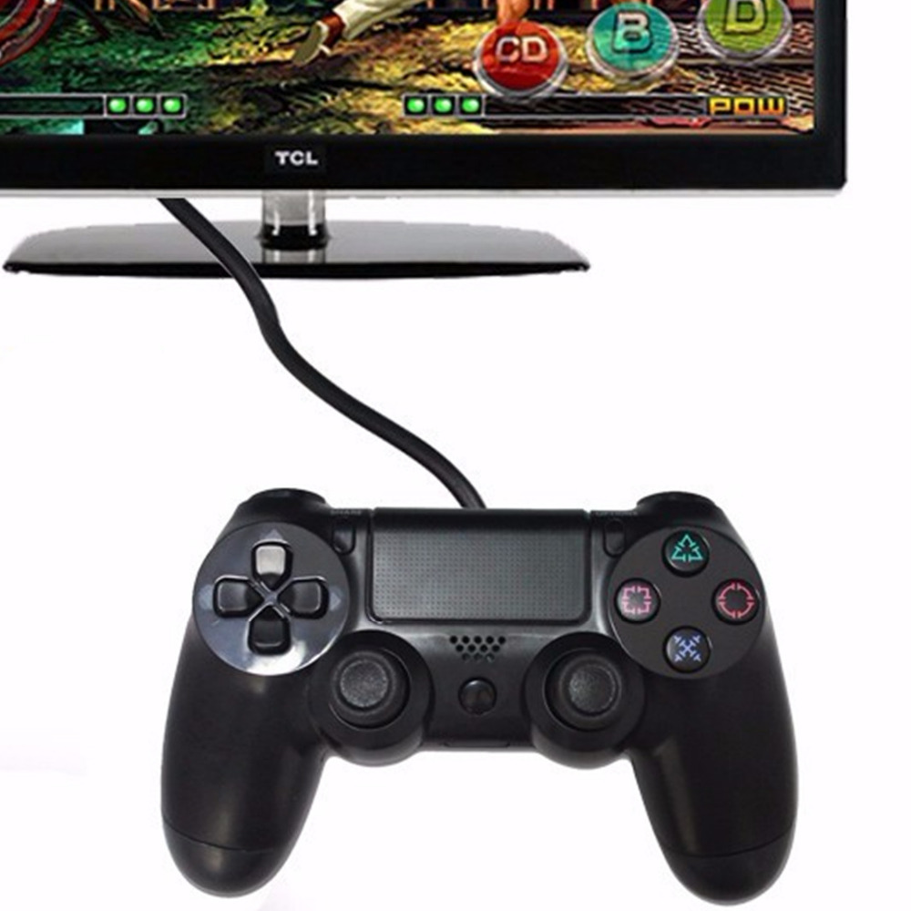 for Sony PS4 controller USB Wired Game controller Playstation 4 Console dualshock Vibration gaming Joystick for