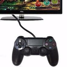 Для Sony PS4 контроллер USB Проводной регулятор Игры Playstation 4 Console dualshock Вибрации игровой Джойстик для Play Station 4