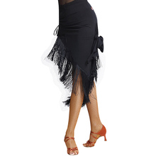 New ballroom fashion sexy tassel Latin dance skirt for women/female/girl, tango modern dresses costume performance dancewears