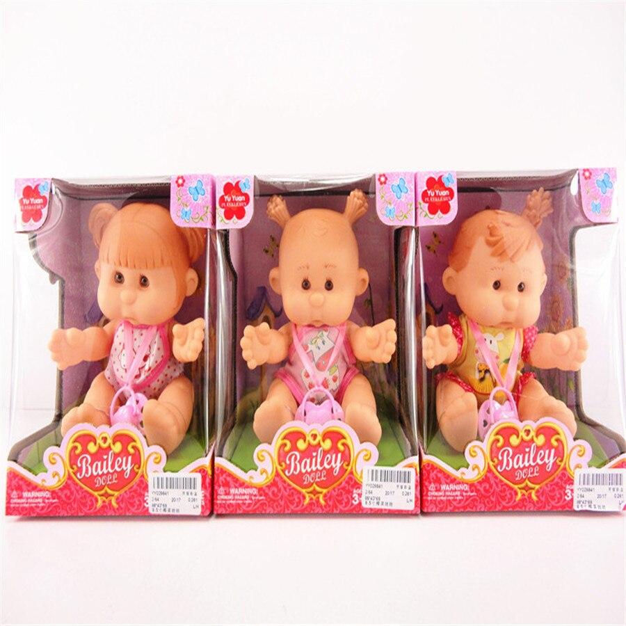 8,5 tums Kålplatta Barnspel House Leksaker Vinyl Doll Flickas Gåva 031601