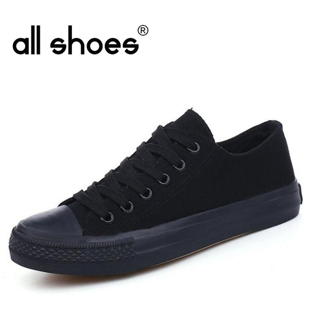 Unisex Men Skateboarding Shoes Womn Sport 2019 Sneakers Outdoor Athletic Shoes Breathable classic canvas shoes all black HA-36