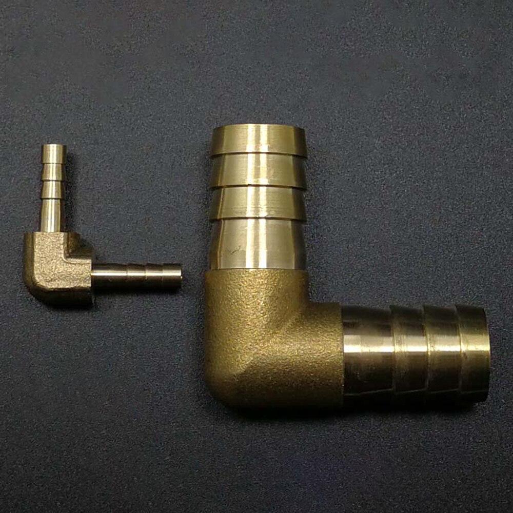 Clever 6/8/10/12/14/16mm Schlauch Barb Hosetail 90 Grad Ellenbogen Gleich/ Reudcing Messing Rohr Fitting Wasser Gas Öl Exzellente QualitäT Heimwerker Rohre & Armaturen