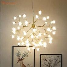 Nordic pendent lamp Glass Ball LOFT Vintage Industrial Pendent Lamp Black Golden Bar hang Gold/Black