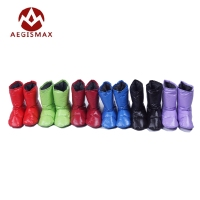 Aegismax Sleeping Bag Accessories White Duck Down Slippers Ultralight Camping Outdoor Soft Sock Unisex Indoor Warm