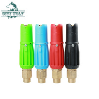self service car washer snow foam nozzle fan shaped foam for high pressure washer car cleaning wash shop accessory