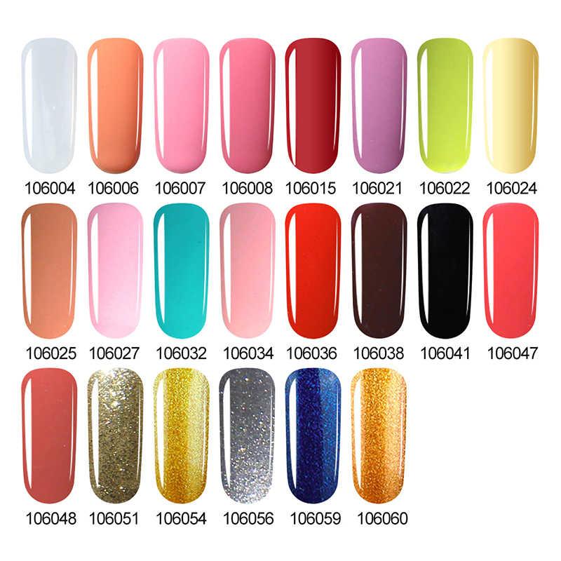 Sarness 3 ב 1 נייל ג 'ל עט 22 צבעים אחד צעד ציפורניים ג' ל פולני חצי קבוע לא צריך Gelpolish למעלה בסיס מעיל UV ג 'ל אמנות ציפורן