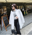 genuine mink cashmere sweater women pure cashmere cardigan knitted mink jacket fashion winter long fur coat free shipping M26