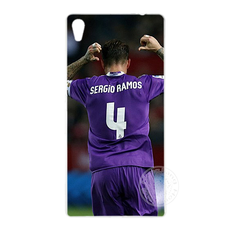 HAMEINUO Sergio Ramos SR4 Football Player Cover phone Case for sony xperia C6 XA1 XA ULTRA X XP L1 X compact XR/XZ/XZS PREMIUM