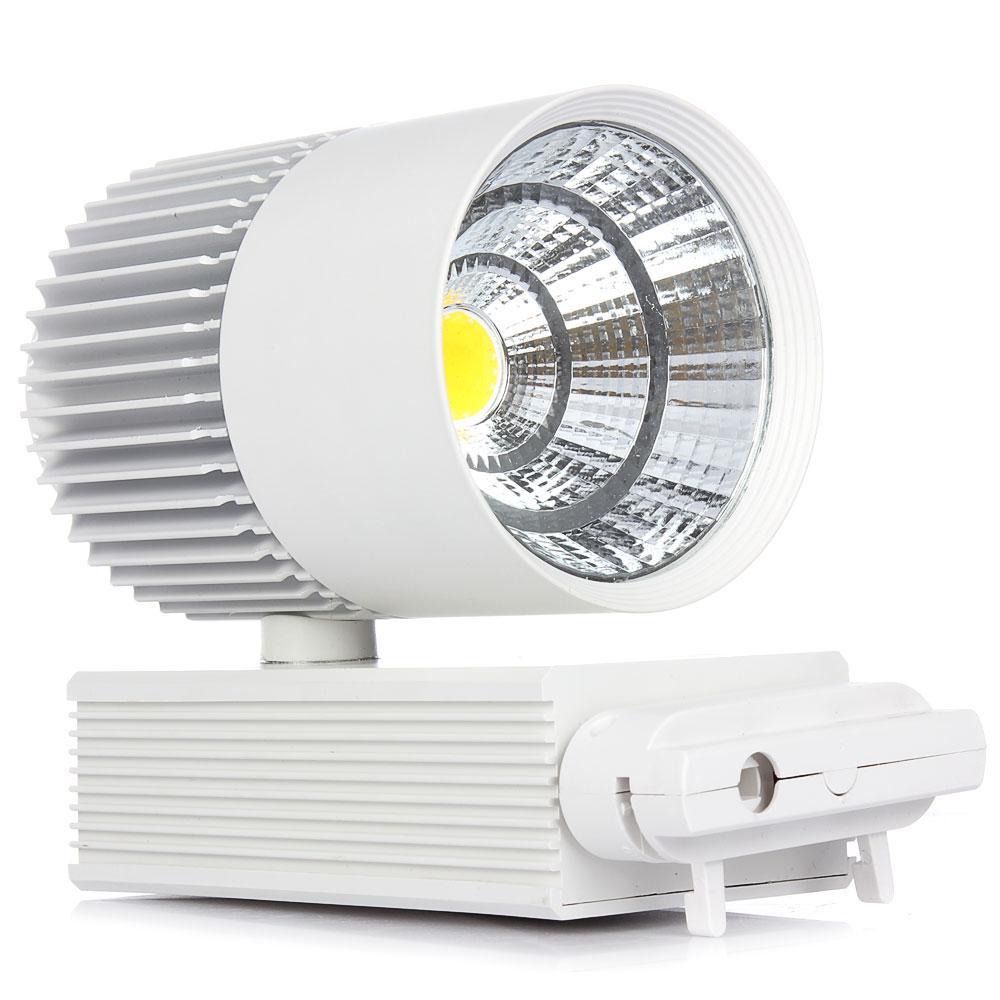 1pcs wholesale New 20W COB LED Ceiling Track Rail Light ...