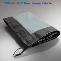 Extra Large 250inch Cinema Projetion Screen Rear View 5534x3113mm Folding Projector Screens Fabric Perfect For Concert