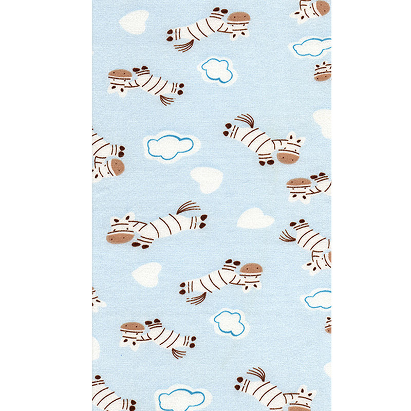 Crib Fitted Sheet Soft Breathable Baby Bed Mattress Cover Potector Cartoon Newborn Bedding For Crib