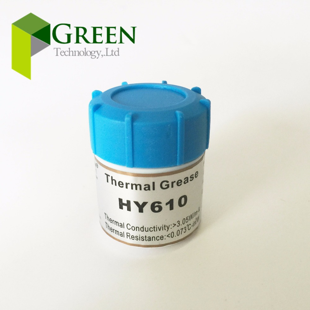 Golden Thermal Grease HY610 Heatsink Compound Paste For CPU GPU VGA 10g 2PCS Best Cooling Effect