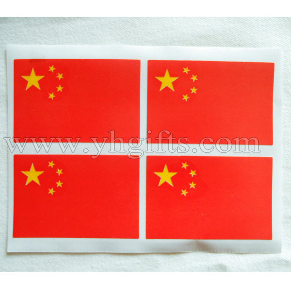 200pcs lotchinese national flag stickers chinas flag stickerchinas national flag