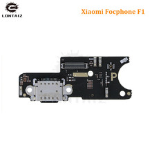 купить for Xiaomi poco F1 USB Chargng dock Port Flex Cable Connector PCB Board Ribbon Flex Cable Spare Repair Parts for Pocophone F1 недорого