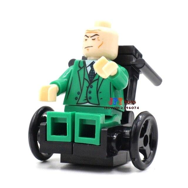 Venda único Professor de super-heróis da marvel x-men TV modelo de blocos de construção tijolos brinquedos para as crianças brinquedos menino