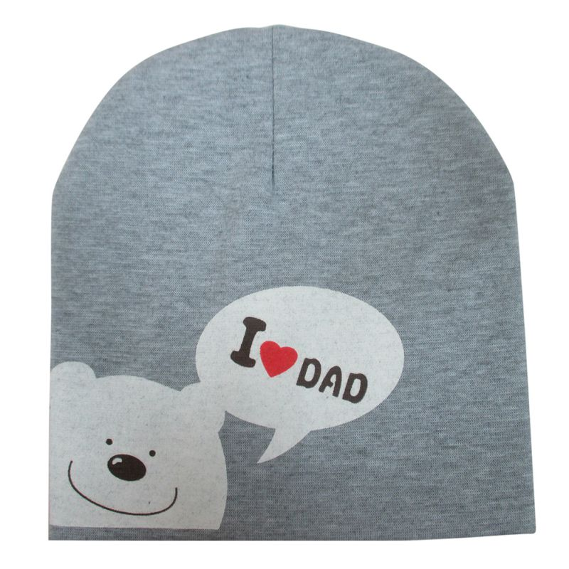Fashion Cotton Infant Baby Hat Animal Printed Bear Soft Warm Girls Boys Beanie Cap 7 colors