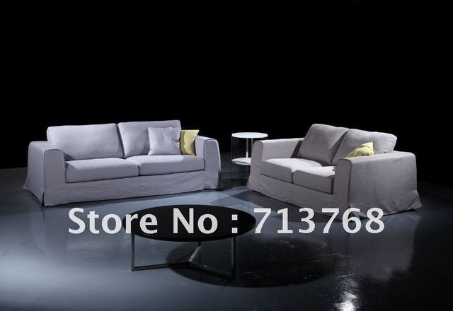 Modern Furniture / Living Room Fabric Sofas / Popular Sofa Set / 3 Seater /  Lover