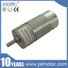 6v,12v,24v,36v 37mm dia Low Speed12V Rpm High Torque Dc Motor for robot