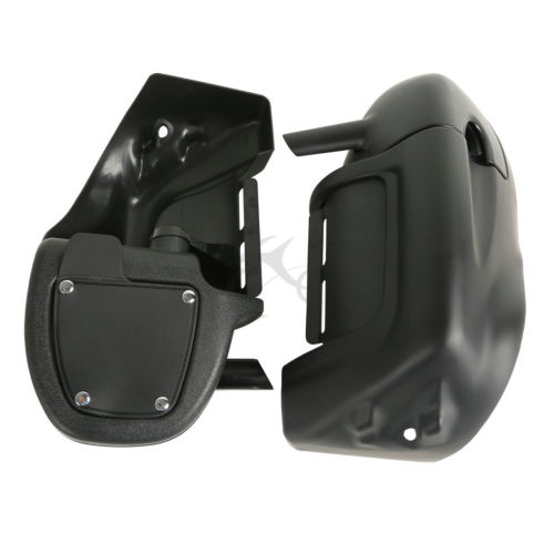 Motorcycle Lower Vented Leg Fairings Glove Box For Harley Touring Electra Street Glide Road King Road Street Glide 1983 2013-in Covers & Ornamental Mouldings from Automobiles & Motorcycles