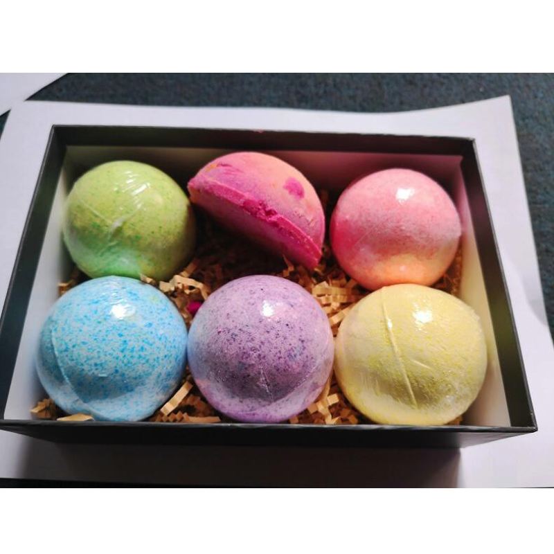 Free Shipping 60g Bath Bombs Multiple colors
