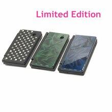 Para mickey kingdom coração 3d azul verde edição limitada habitação caso escudo com botões para nintendo dsi para ndsi substituição